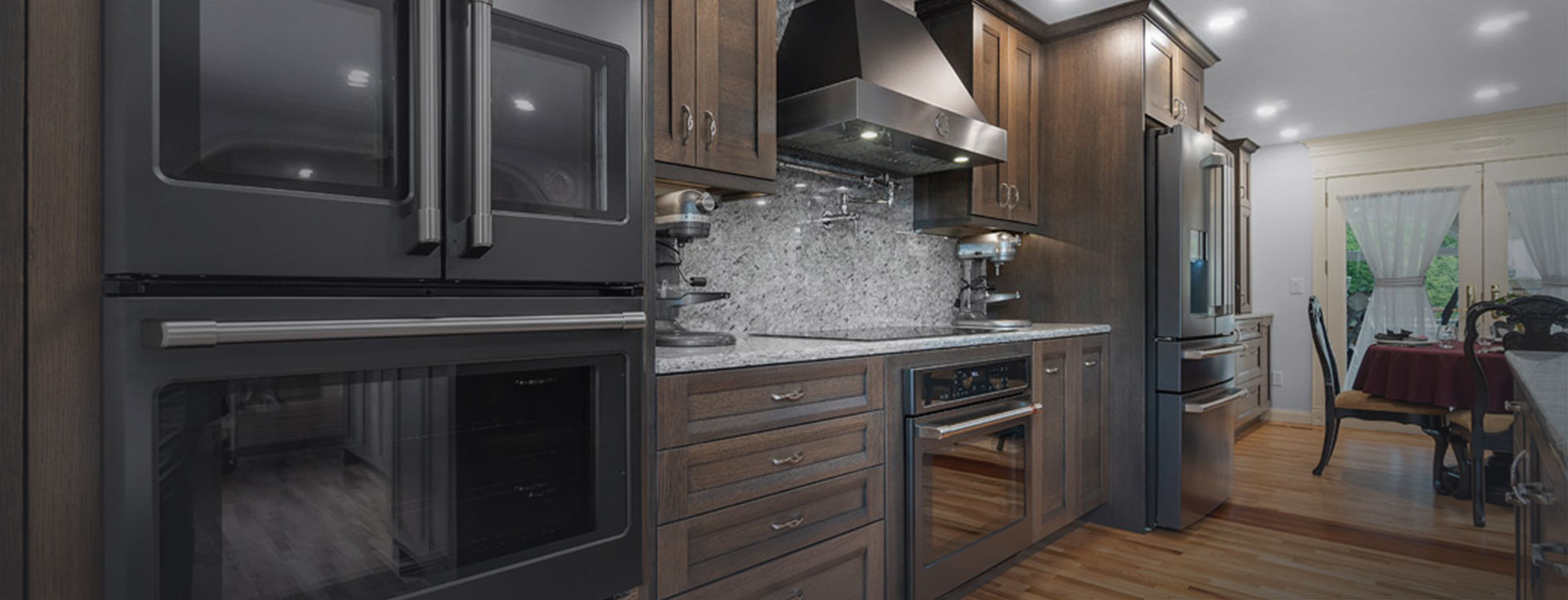 Richardson Kitchen Remodel Hero - Cabinets by Trivonna